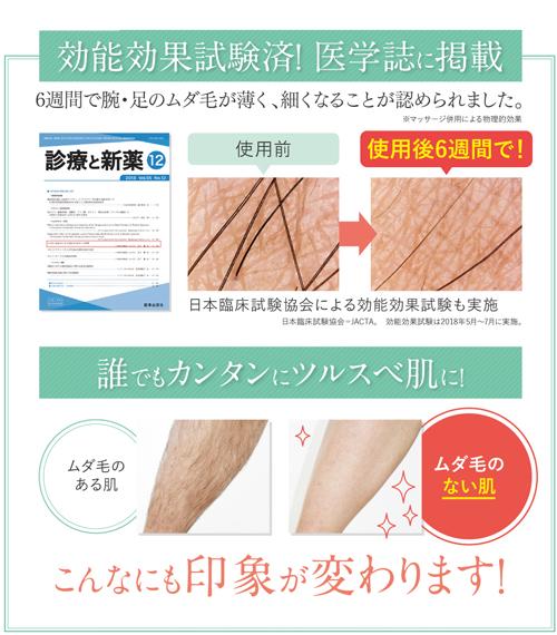 パイナップル豆乳ローション医学誌